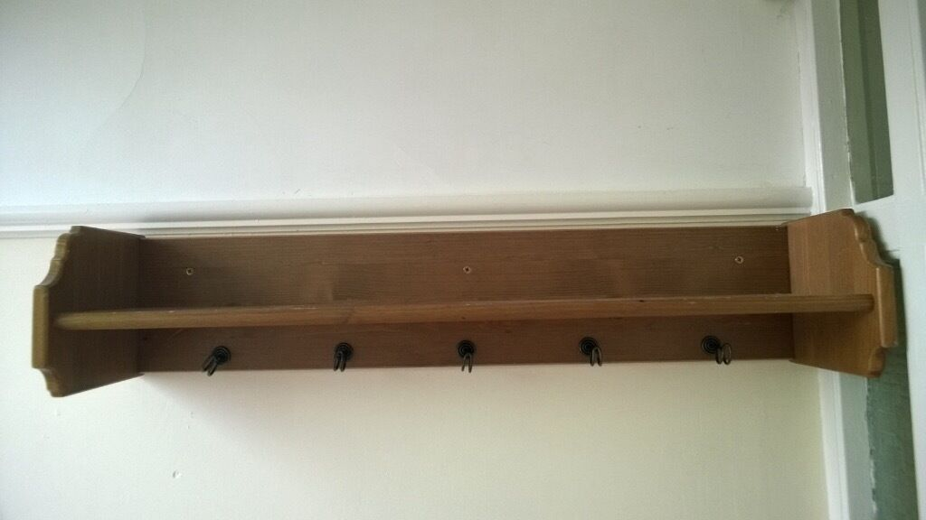 Ikea leksvik coat hat rack in upper knowle bristol for Ikea coat and hat rack