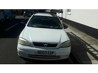 Vauxall astra van 2003 mot end of november