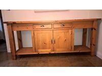 Bespoke solid wood sideboard