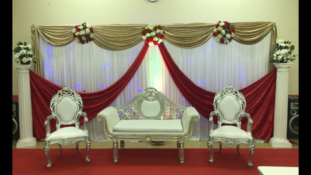 Asian Wedding Stage Hire Mendhi Stages House Lighting Chair