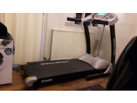 Dream fitness D1000 electric treadmill with hydraulic incline