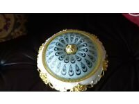 flush dome ceiling light