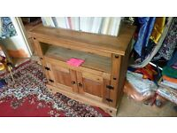 Wooden Tv Cabinet. good condition. lite weight WOOD.