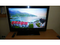 LG 42'' TV Television and remote Build in Freeview and HDMI ports