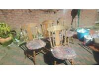 Quality chairs oak