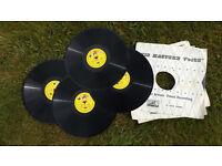 Set of Noddy 78RPM Records