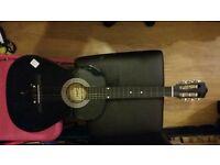 Guitar - full size. black