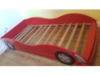 Boys Car single bed