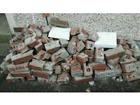Brick rubble