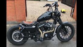 Harley sportster 883 custom