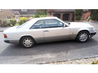Mercedes 300CE-24, low mileage in great condition
