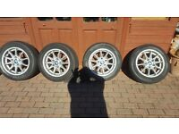 """BMW Z4 16"""" ALLOY WHEELS AND TYRES"""