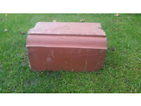 Reclaimed Red Coping Stones