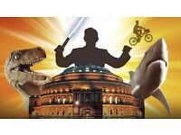 ROYAL PHILHARMONIC ORCHESTRA performing Best Film Themes FRONT ROW TICKETS at The Royal Albert Hall