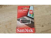 SanDisk Cruzer Blade USB 2.0 Flash Drive - 128GB.
