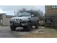 nissan terrano highly modified