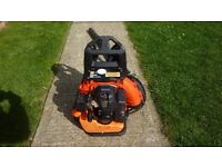 Tanaka Japanese quality petrol backpack blower sells for £500 now