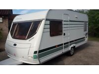 4 berth caravan with all accessories