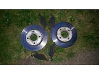 Ford forus mk1 front discs and brake pads