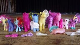 My Little Pony figures (assorted) £3