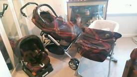 mamma and pappa travel system