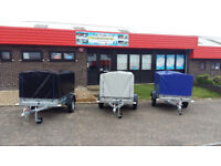 New car trailer small camping 750kg TOP COVER 80CM