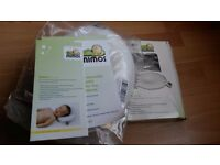Mimos orginal pillow with Mimos Pillow COVER Size M White from 3 months onwards