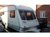 FLEETWOOD CRYSTAL 148-5 GOOD CONDITION FOR AGE 5 BERTH OPEN TO OFFERS