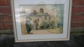 Didsbury Parsonage Watercolour