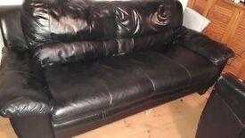 Black sofa need gone asap tgis weekend