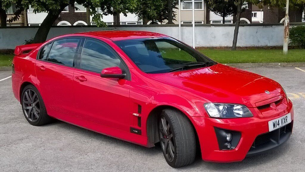 Vauxhall VXR8 Supercharged, 610BHP, Manual, Lots of Upgrades, Red 6.0i 2008 Mint Condition, Full MOT