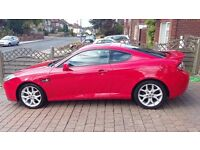 Hyundai Limited Edition TUSCANI 2.0 Siii Coupe, Red, VERY LOW MILEAGE! Sunroof, Red Leather Seats
