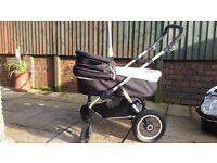 3 in 1 Pram / Pushchair / Car seat Stroller Buggy Baby Toddler Kids