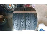2x New Yokohama AD08R 235/35/19 87W Tyres 235/35R19 Advan NEOVA