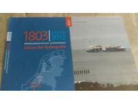Navigation charts for Dutch inland waterways