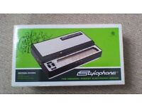 Stylophone: 'The original pocket electronic organ' Retro style with modern feature.