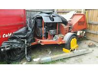 Wood chipper diesel