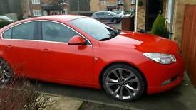 Vauxhall insignia 2.0 CDTI Sri red,