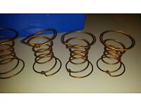 Upholstery Coiled Springs - Used - Reclaimed - 36 Springs