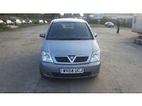 Vauxhall merive tdi 1.7 diesel 2004
