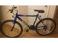 Scott timber lightweight aluminium framed mountain bike