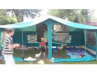 Pennine Pathfinder 600 TC Folding Camper, toilet, cooker, 6 berth