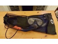 Osprey Mask Snorket Set and Flippers