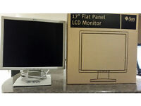 17 in LCD monitor, VGA, DVI