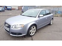 2005 Audi A4 S Line TDI 2.0 Diesel 6 Month MOT 6 Speed Full Service History 94000 Miles Only..