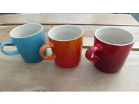 Le Creuset Mugs - 3 for only £16 - Bargain!