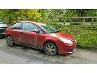 Citreon c4 vtr coupe. Spares or repair.