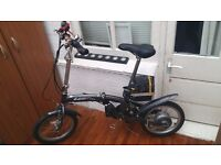 ELECTRIC FOLDING BIKE FULLY WORKING -GOOD CONDITION- NEED ONLY A NEW INNER TUBE
