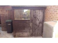 8ft x 6ft Shed