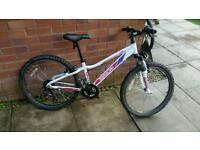"Girls Mountain Bike Saracen Tufftrax 24"" wheel"